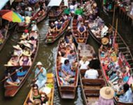 thailand floating-market